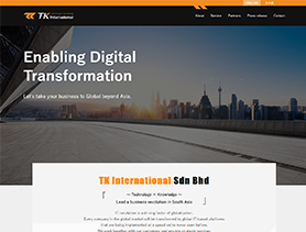 TK International Corporate Website